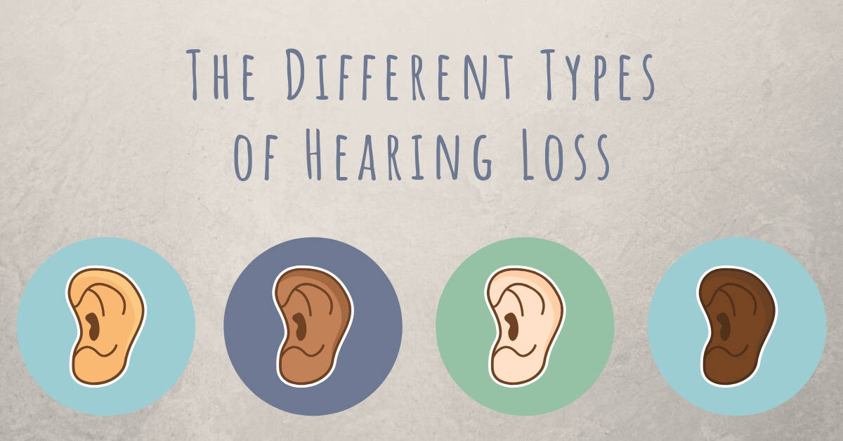 The Different Types of Hearing Loss