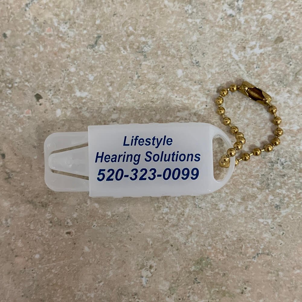 Lifestyle Hearing Solutions Key Chain